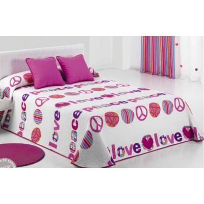 Colcha de pique cama LOVEPI