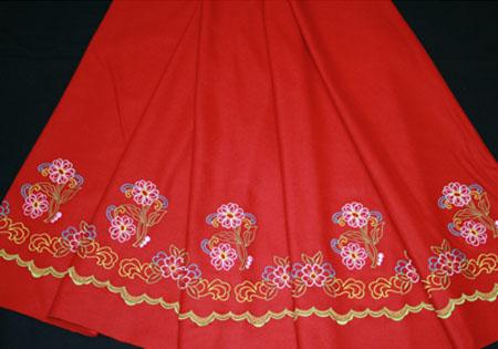 tejido para faldas refajos lolasanchez