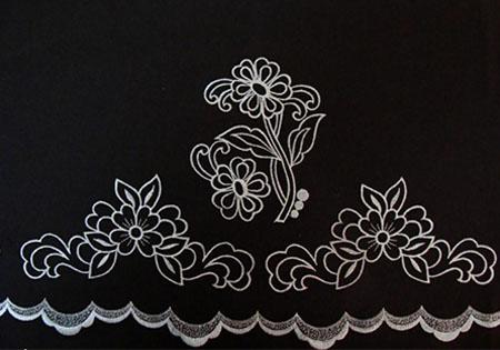 tejido para faldas refajos margarita lolasanchez