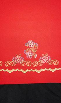 tejido para faldas refajos margarita